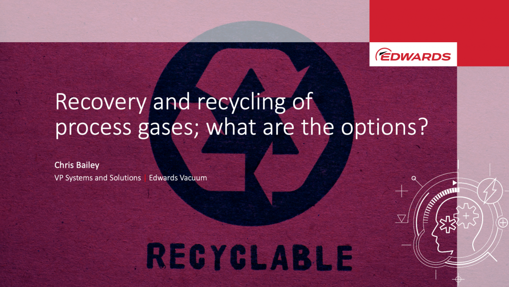 Recovery and recycling of process gases
